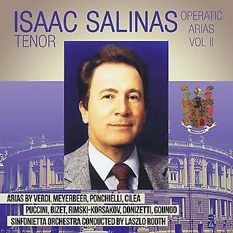 Isaac Salinas - Operatic Arias II [CD] USA import