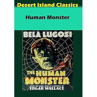 Human Monster [DVD] USA import