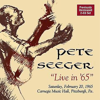Pete Seeger - Live i 65 [CD] USA import