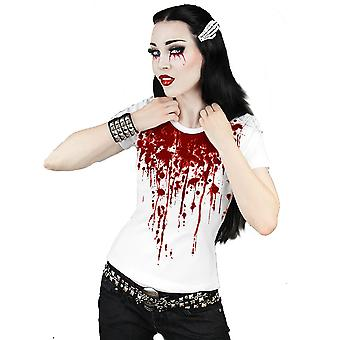 Restyle - SPLASH OF BLOOD - Women's T-Shirt - White