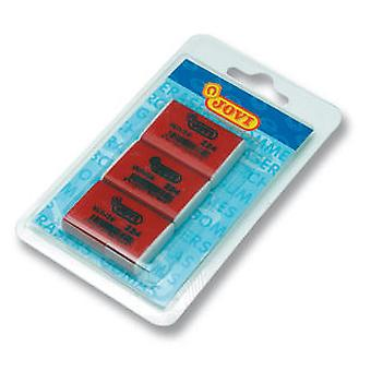 Jovi Blister 3 Gomas De Borrar Nata 224  (Toys , School Zone , Drawing And Color)