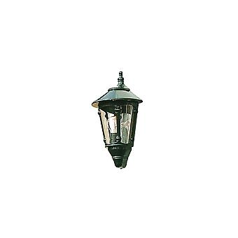 Konstsmide Virgo Green Flush Wall Light