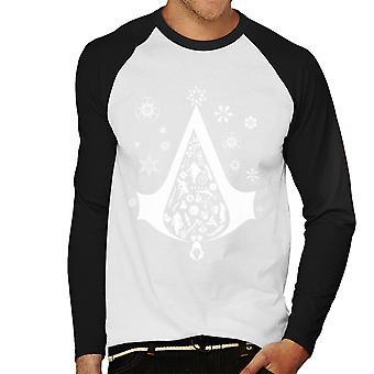 Juletræ Assassins Creed mænds Baseball langærmet T-Shirt