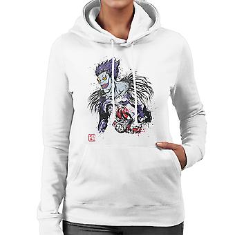Death Note Shinigami Women's Hooded Sweatshirt