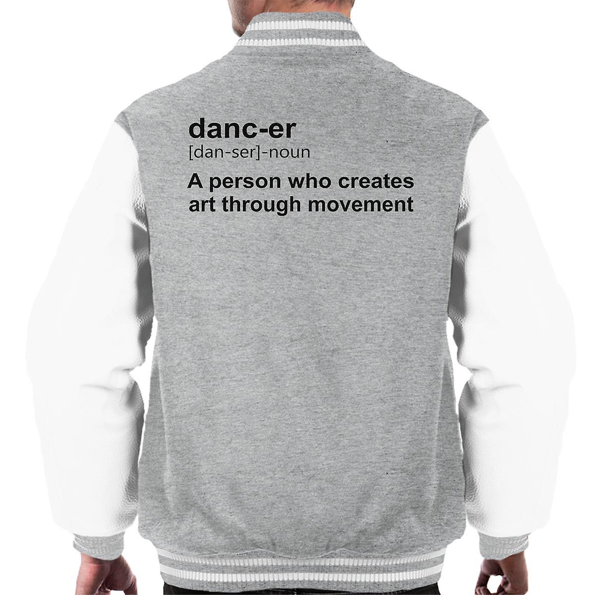 Tänzerin Definition Männer Varsity Jacket