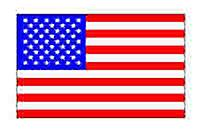 USA American Flag 3ft X 2ft (100% Polyester) With Eyelets For Hanging