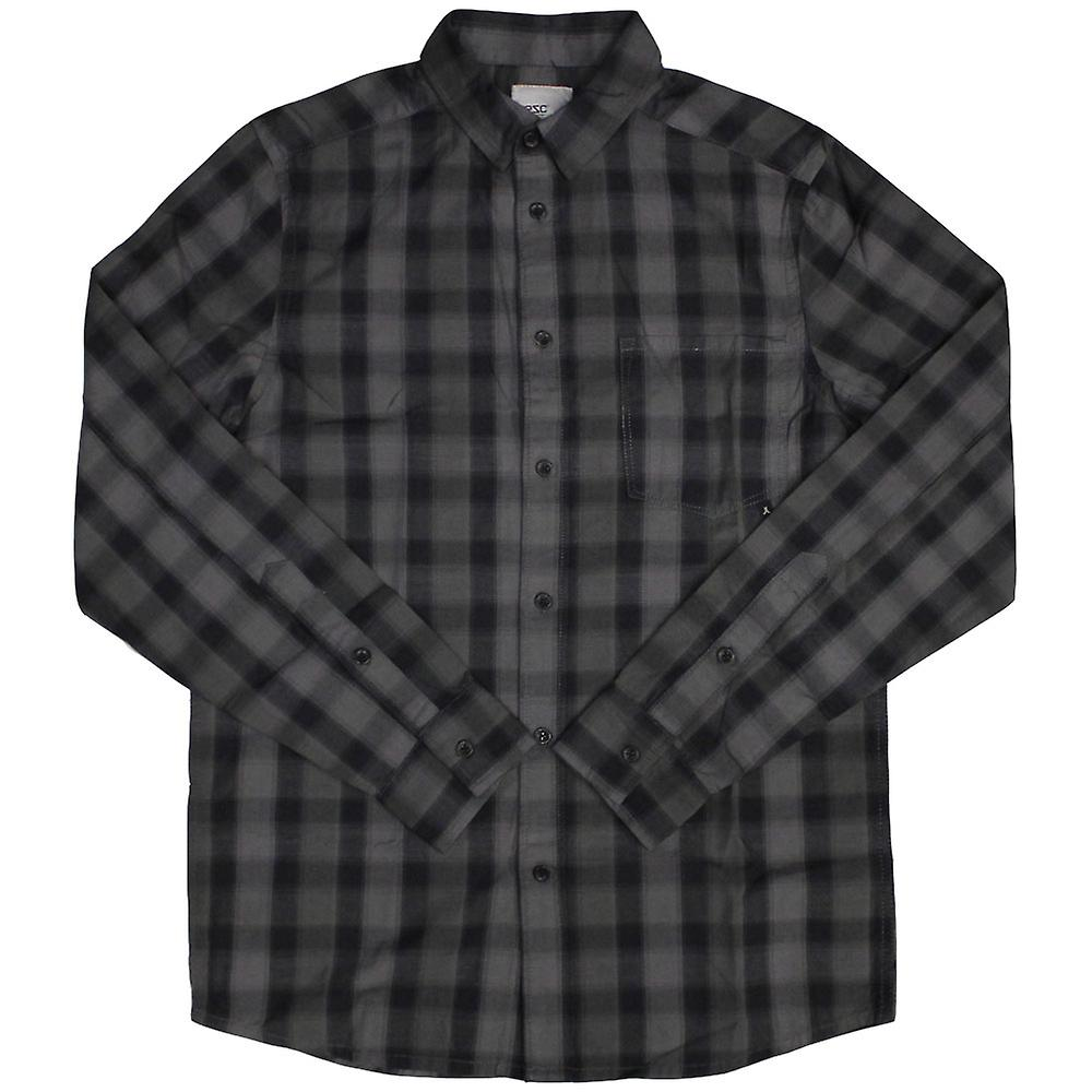 Wesc Eric Check Denim L/S Shirt Black Hombre