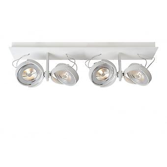 Lucide espectro Spot 4xAR111 /12W incl. 600LM 2700 K blanco