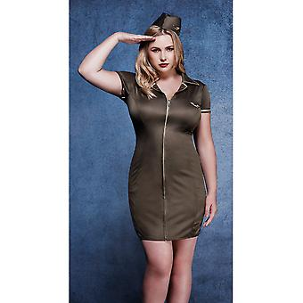 Women costumes  Sexy dress Army Fever