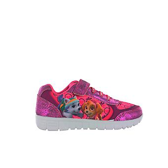 Girls Paw Patrol Pink Trainers Skye & Everest  UK Infant Sizes 5 - 10