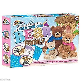 Grafix bauen Ihre eigenen Bären-Familie