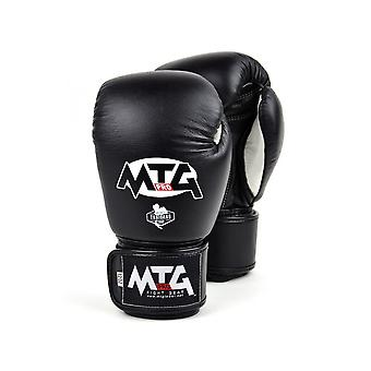 MTG Pro Black Boxing Gloves