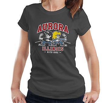 Waynes World Party time Aurora Illinois Women's T-Shirt