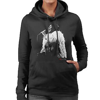Aretha Franklin Live Women's Hooded Sweatshirt