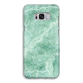 Samsung Galaxy S8 Full ut fallet - grön marmor