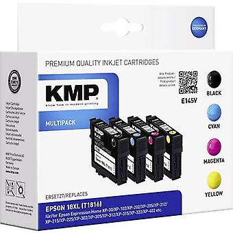 KMP Ink replaced Epson 18XL, T1811, T1812, T1813, T1814, T1816 Compatible