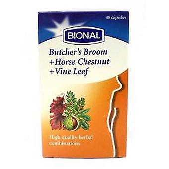 Bional V-nal Xtra (Butcher's Broom+Horse Chestnut+Vine Leaf), 40 caps