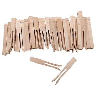 Woodsies No Roll Clothespins 3.75