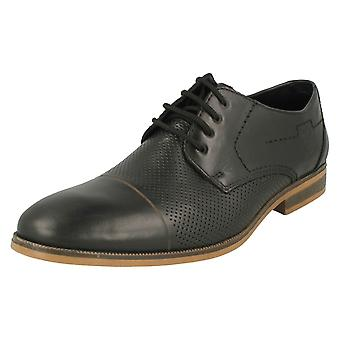 Mens Rieker Formal Lace Up Shoes 11615