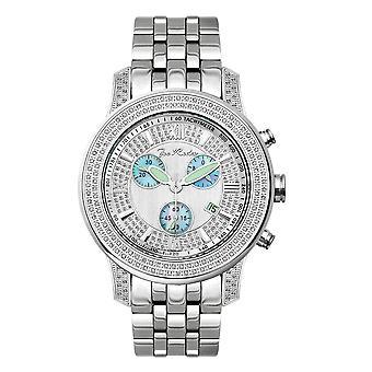 Reloj Joe Rodeo diamante hombres - 2000 plata 1,5 quilates