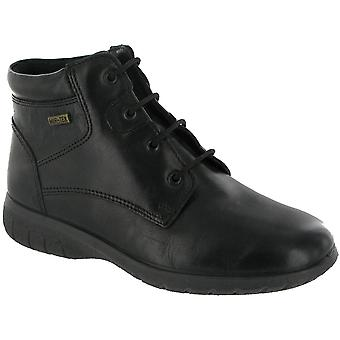 Cotswold Ladies Bibury Leather Waterproof Ankle Boot Black