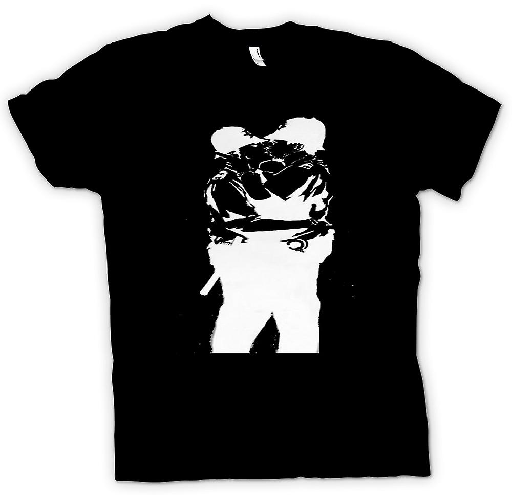 Kids T-shirt - Banksy Graffiti Art - Gay Police