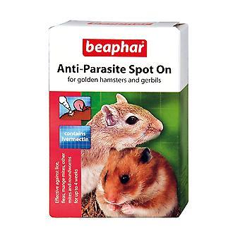 Beaphar boeken anti-parasiet Spot-On voor gouden Hamsters en Gerbils x 2 pack