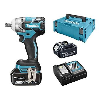 Makita DTW285RTJ 18v Brushless carpentieri Impact Wrench 2x5ah