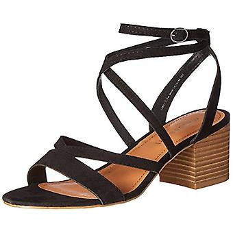 Madden Girl Womens Leexi Fabric Open Toe Casual Strappy Sandals