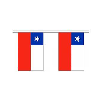 Girlande 6m 20 Flagge Chile