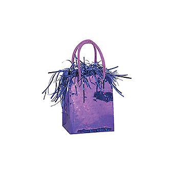Balloon Weight Mini Handbag Purple