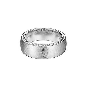 ESPRIT women's ring silver zirconia Craftlines ESRG92368B1
