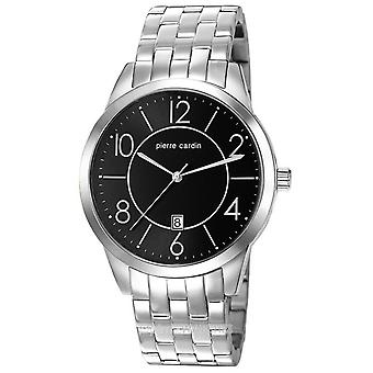 Pierre Cardin mens watch wristwatch stainless steel PC106921F05