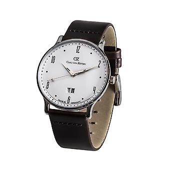 Carl of Zeyten men's watch wristwatch quartz Lenzkirch CVZ0019WH