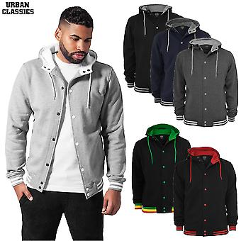 Urban Classics Hooded College Sweatjacket