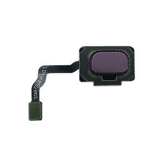 Samsung GH96-11479B button + fingerprint Flex cable purple / lilac purple for Galaxy S9 G960F / S9 duo G965FD / S9 plus G965 / S9 plus duo G965FD