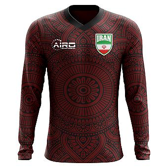 2018-2019 Iran Long Sleeve Away Concept Football Shirt