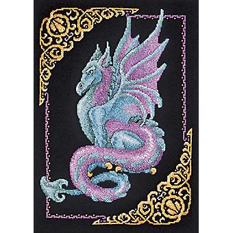 Mythical Dragon Picture Counted Cross Stitch Kit-11