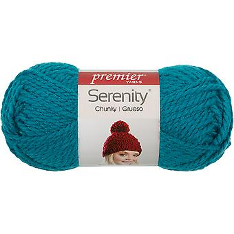 Premier Serenity Chunky Yarn - Solid-Teal