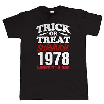 Trick Or Treat Survivor Mens T Shirt