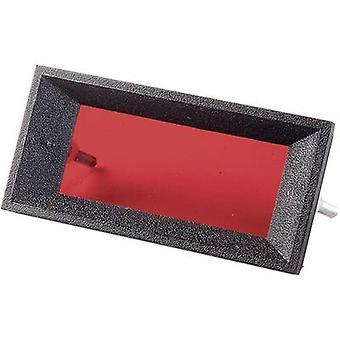 Colour filter gel Red (transparent) Strapubox FS41 Rot