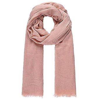 Intrigue Wool Mix Long Scarf - Pink