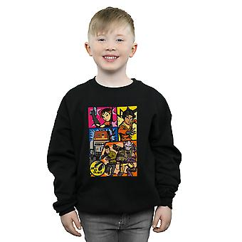 Star Wars Boys Rebels Comic Strip Sweatshirt