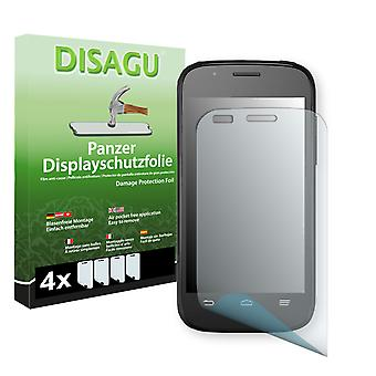 ZTE blade Q mini display - Disagu tank protector film beskyddare