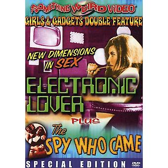 Electronic Love/Spy Who Came [DVD] USA import