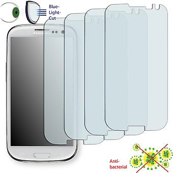 Samsung I9305 Galaxy S3 LTE display protector - Disagu ClearScreen protector (deliberately smaller than the display, as this is arched)