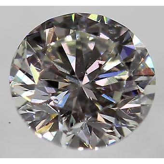 Certifié 0.26 Carat G VS1 Round Brilliant Enhanced Natural Diamond 4.07mm 3EX