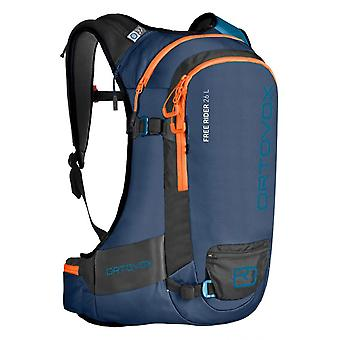 Ortovox Night Blue-Blend 2019 Free Rider - 26 Litre Snowboarding Backpack