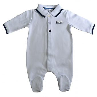 Hugo Boss Boys Hugo Boss Baby Boys White All In One