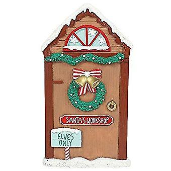 Santas Werkstatt magischen Tür